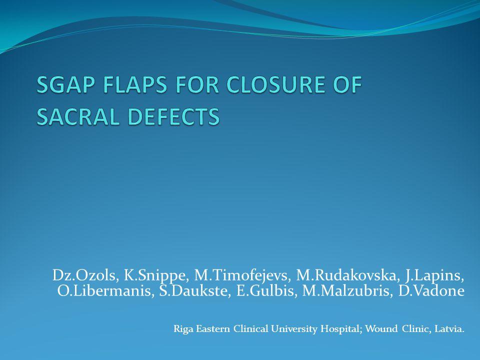 Dz.Ozols, K.Snippe, M.Timofejevs, M.Rudakovska, J.Lapins, O.Libermanis, S.Daukste, E.Gulbis, M.Malzubris, D.Vadone Riga Eastern Clinical University Ho