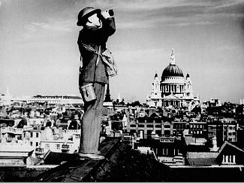 BATTLE OF BRITAIN The German Luftwaffe began bombing runs over Britain 15 August 1940 – Hitler had 2,000 planes fly over Britain and run bombing raids