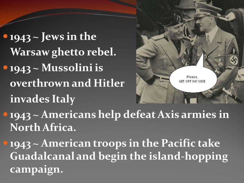 AMERICANS AT WAR 1941 ~ Hitler invades the Soviet Union and Hong Kong falls to Japan. December 7 th, 1941 ~ Japan attacks Pearl Harbor 1942 ~ Japan co