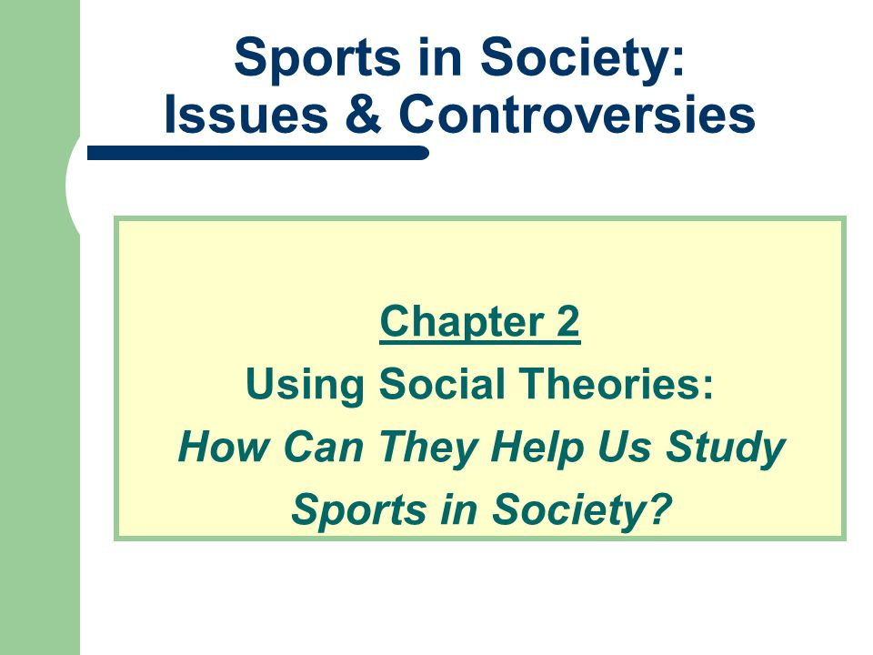 Theoretical Perspectives What factors contribute to the popularity of certain sports.