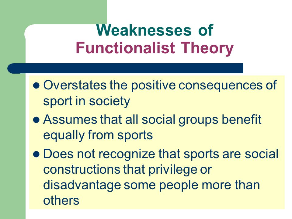 SPORTS are more than reflections of society Sports consist of sets of relationships that are produced by people in society.