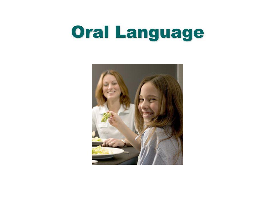 English Language Arts & Reading 7 Oral Language