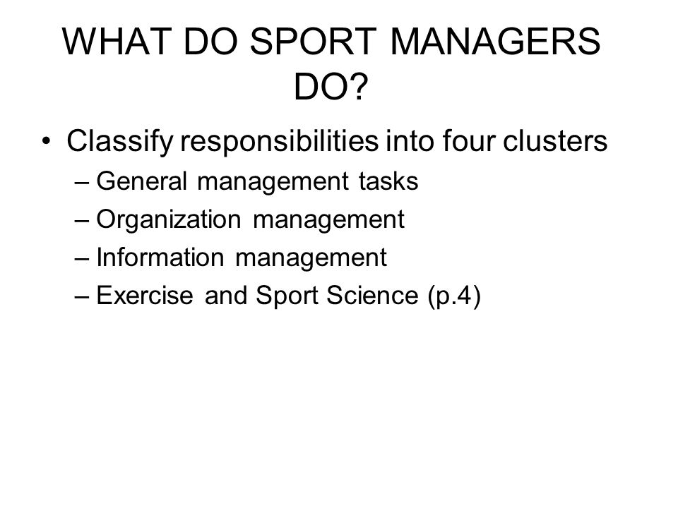 NATURE & SCOPE OF THE SPORT INDUSTRY By Setting By Type By Segment –Product Type Model –Economic Impact Model –Sport Activity Model