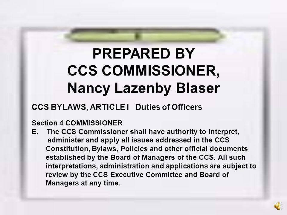 2008 Board of Managers: The CCS Board of Managers approved section-wide consistent practice and contest start dates for all CCS-member schools.