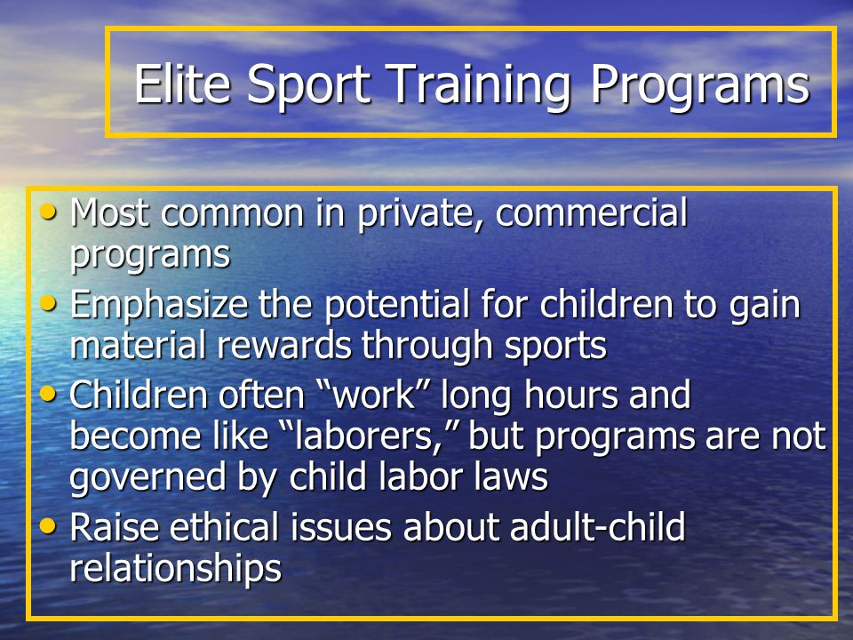 Recommendations for Changing High-performance Programs 1.