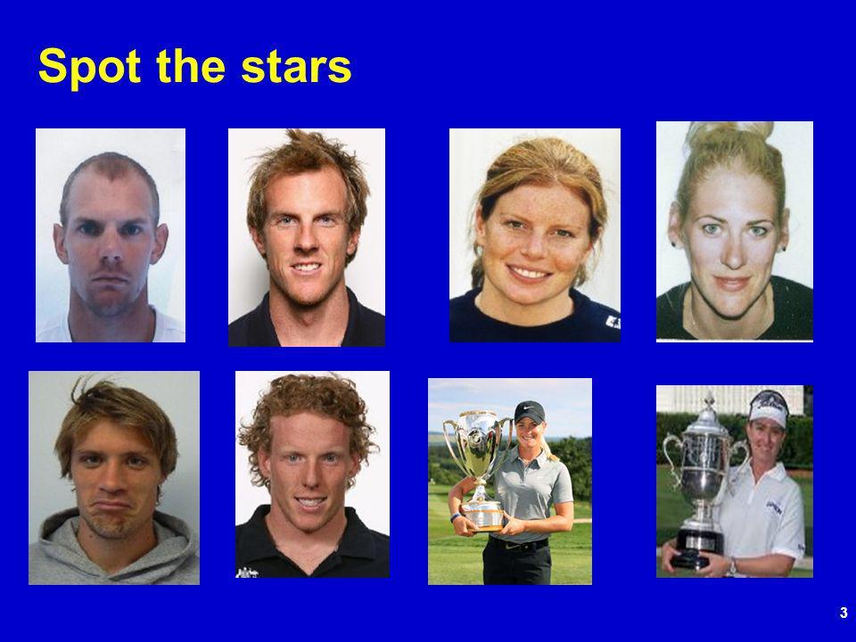 3 Spot the stars