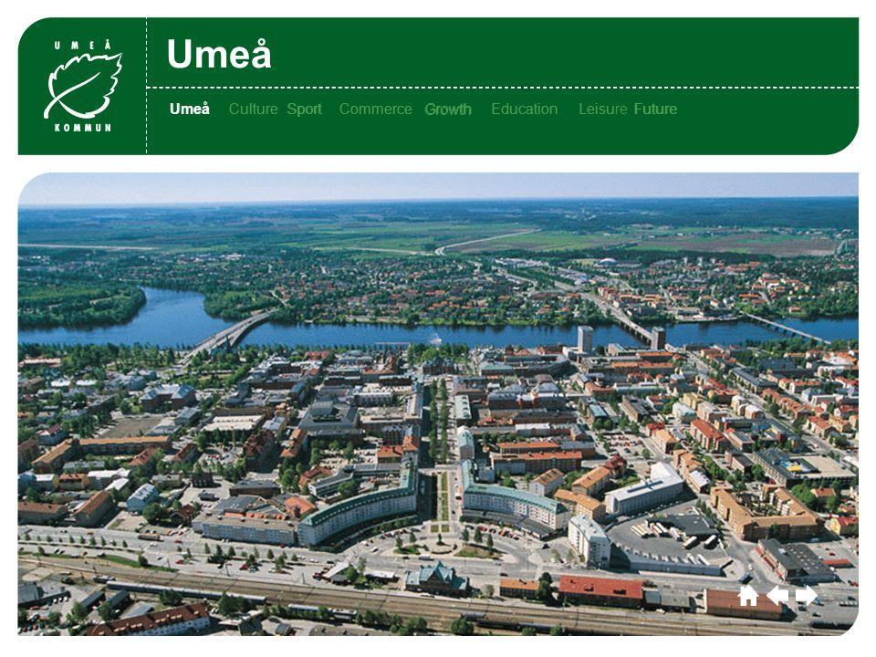 Umeå CultureSportCommerceGrowthEducationLeisu re Future Umeå Culture SportCommerce Growth EducationLeisure FutureUmeåCultureSportCommerceGrowthEducationLeisu FutureUmeå