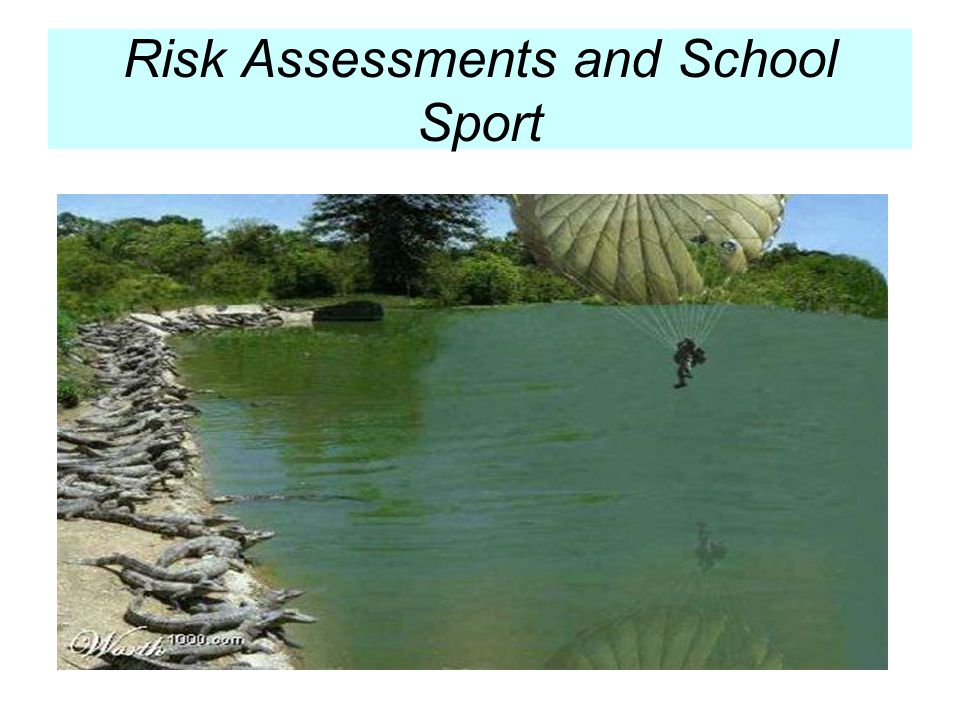 The development of Risk Assessments relating to school sport should be viewed as a common sense approach to planning activities in a safe and caring manner.