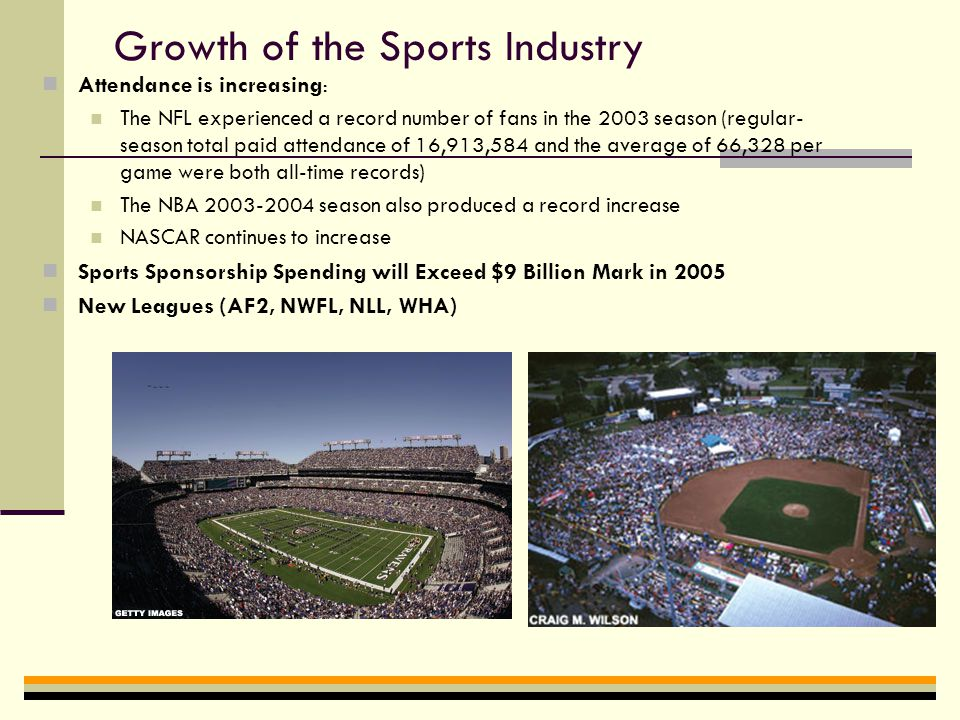 A Successful Sports Manager Understands the Growth of the Sports Industry Sports are the 11th largest businesses of all U.S.