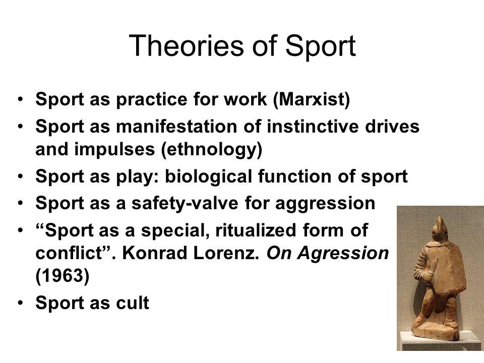 Ethology and Sport Ethology as the study of animal (including human) behavior (Meynell, pg.