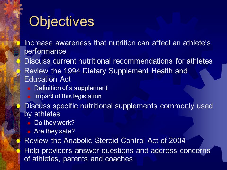 Performance Influencing Factors Genetics Training and Conditioning Nutrition