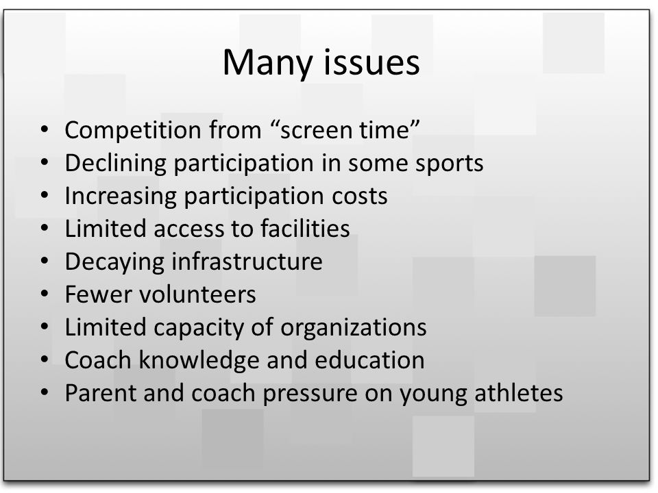 How can we build effective partnerships within sport, recreation, education and health to improve participation and program quality?