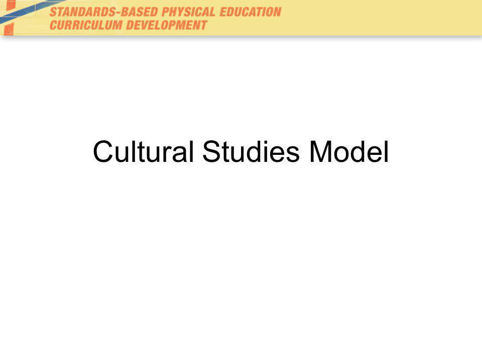 Cultural Studies Model
