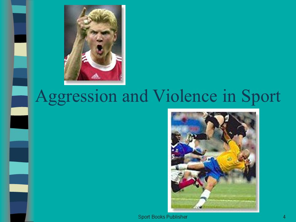 Sport Books Publisher4 Aggression and Violence in Sport