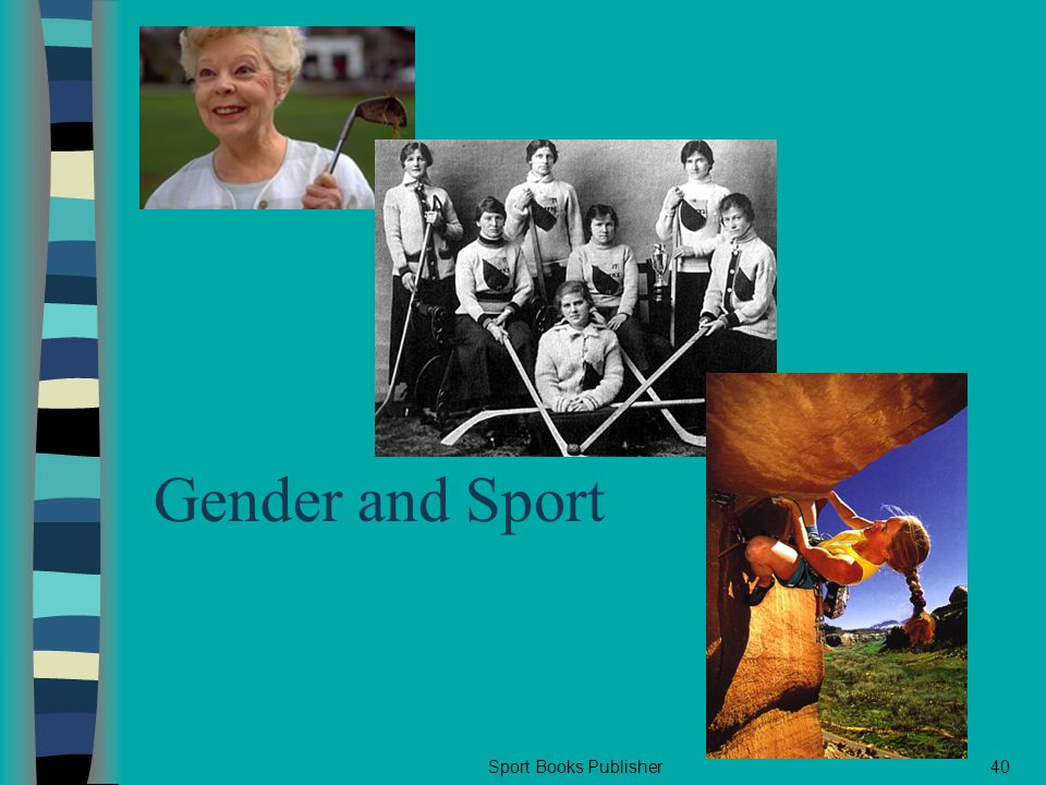 Sport Books Publisher40 Gender and Sport