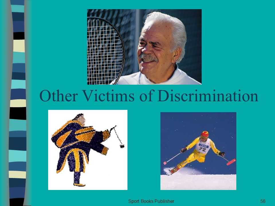 Sport Books Publisher58 Other Victims of Discrimination