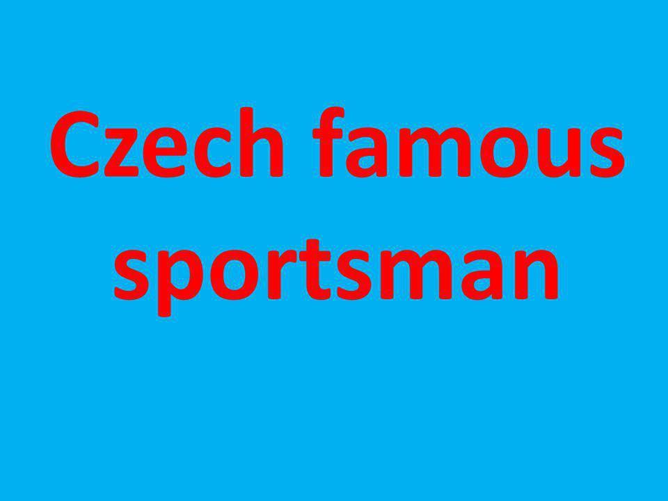 Czech famous sportsman