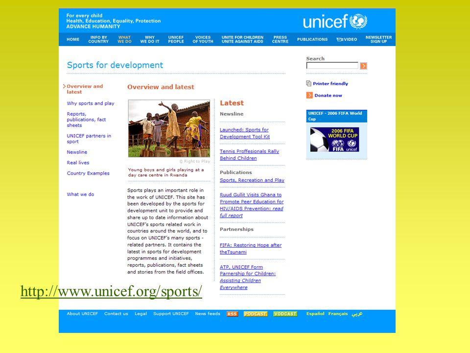 http://www.unicef.org/sports/