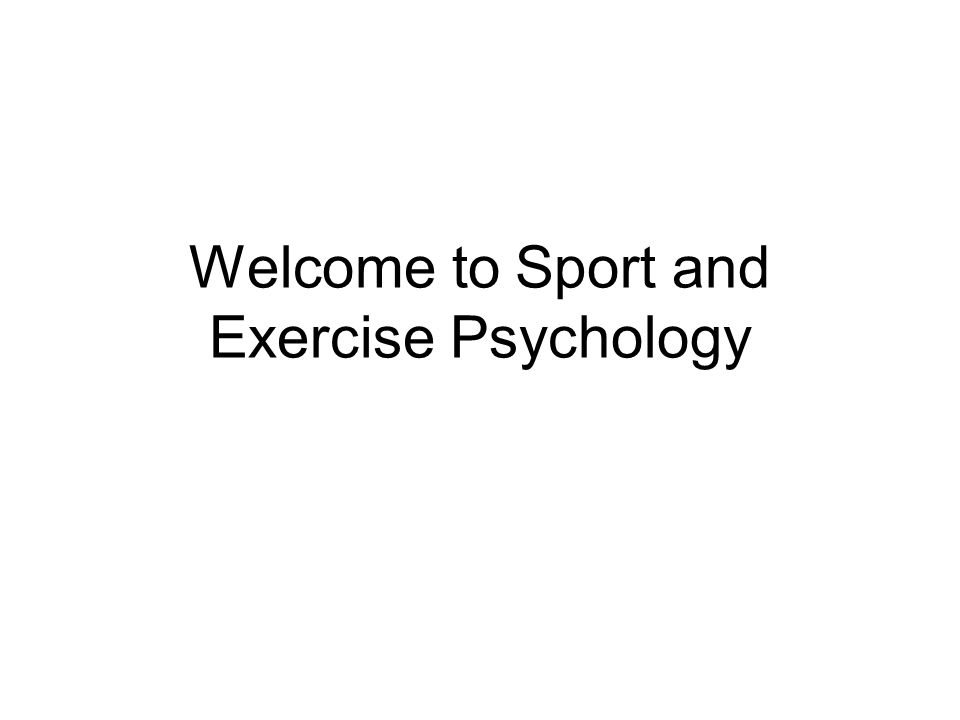 What is Sport Psychology.