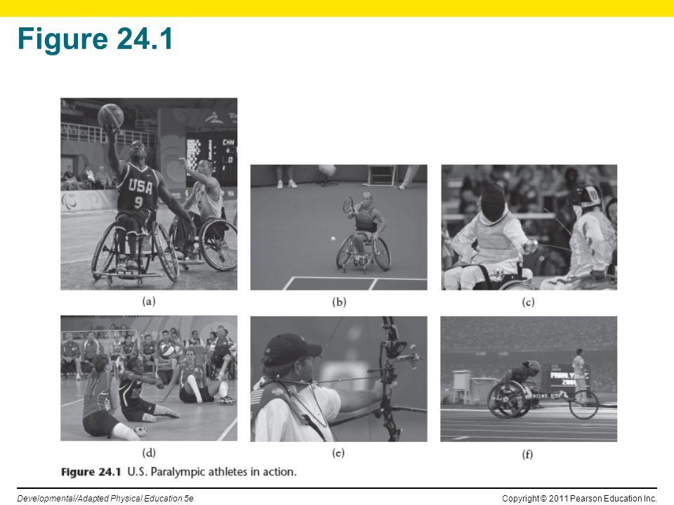 Copyright © 2011 Pearson Education Inc. Developmental/Adapted Physical Education 5e Figure 24.1