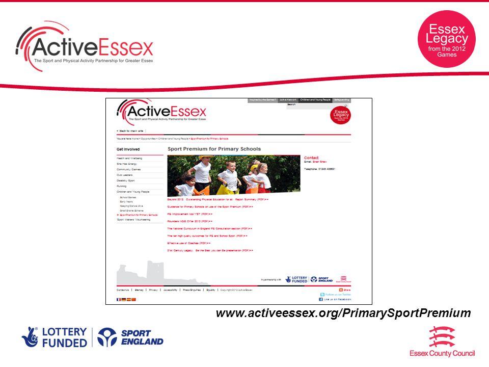 www.activeessex.org/PrimarySportPremium