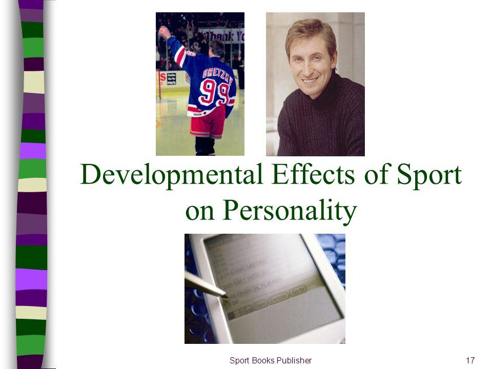 Sport Books Publisher17 Developmental Effects of Sport on Personality