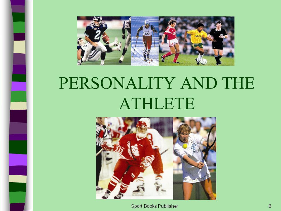 Sport Books Publisher77 Evaluation Component Whether or not the audience is perceived as important for the athlete If the athlete perceives the audience to be: –Important and/or knowledgeable, then drive level is increased –Unimportant and/or not knowledgeable, then drive level is decreased
