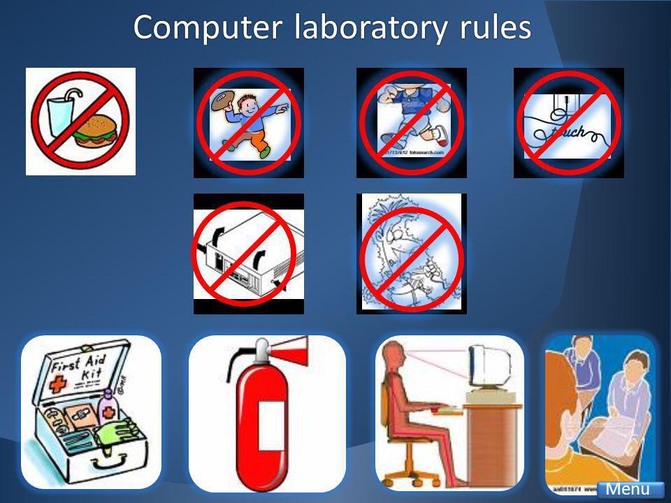 Computer laboratory rulesComputer laboratory rules Menu