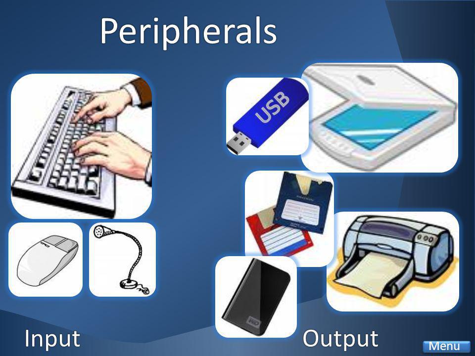 Peripherals OutputInput