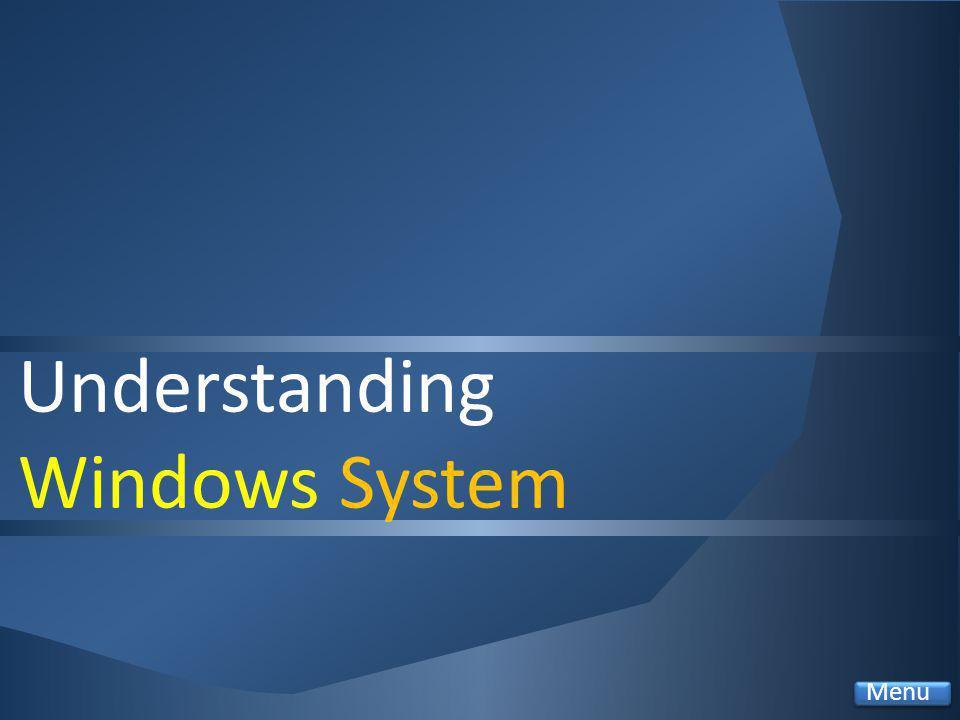 Understanding Windows System Menu