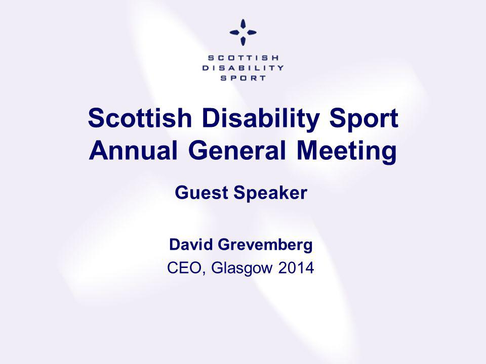Scottish Disability Sport Awards 2013