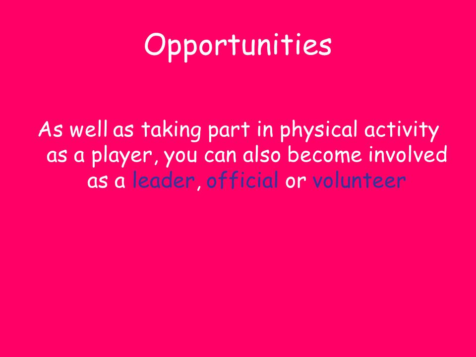 Question 3 Name and describe the level at the top of the sports participation pyramid