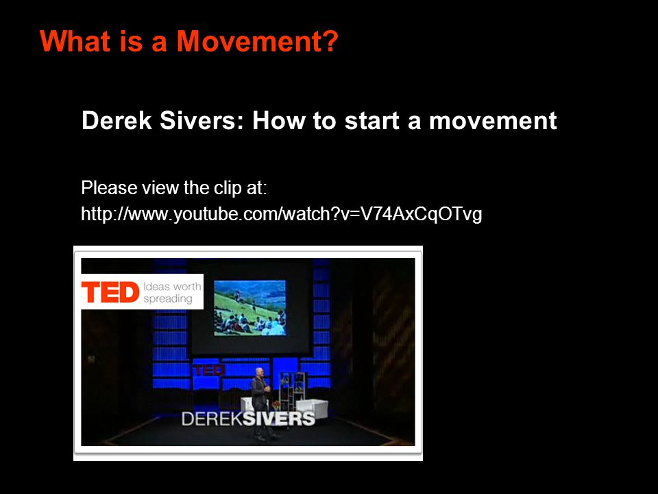 What is a Movement.