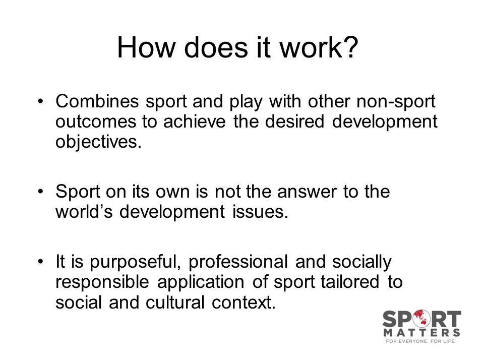 Sport Plus versus Plus Sport