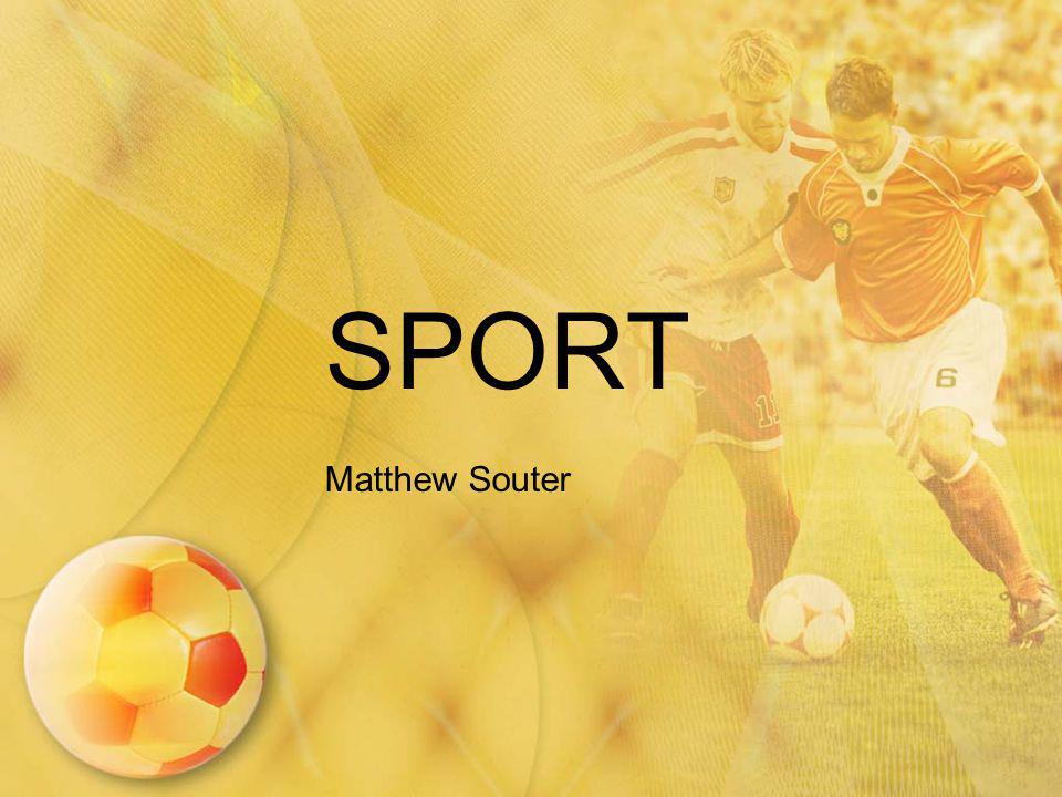 SPORT Matthew Souter