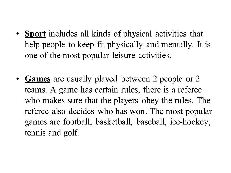 QUESTIONS What are the advantages / disadvantages of being a professional sportsman.
