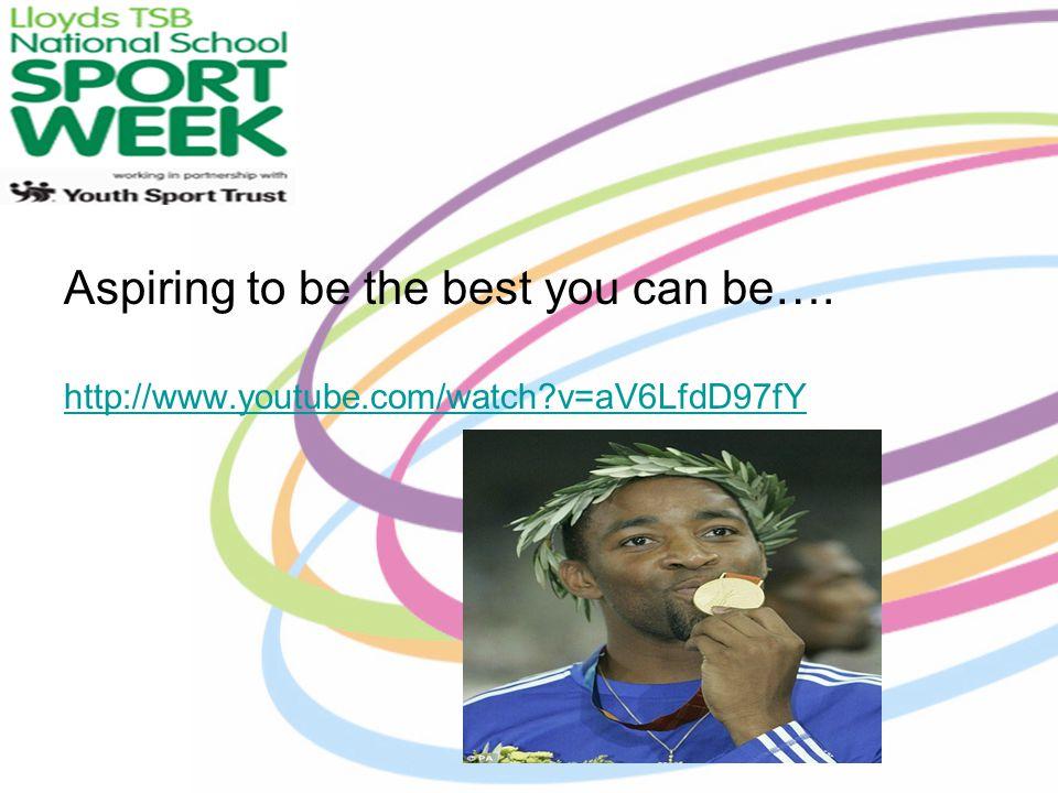 National School Sport Week 25 th June – 29 th June 2012 Bedford Academy: Week of Sport http://www.youtube.com/watch?v=DJ0t3dU HlXU