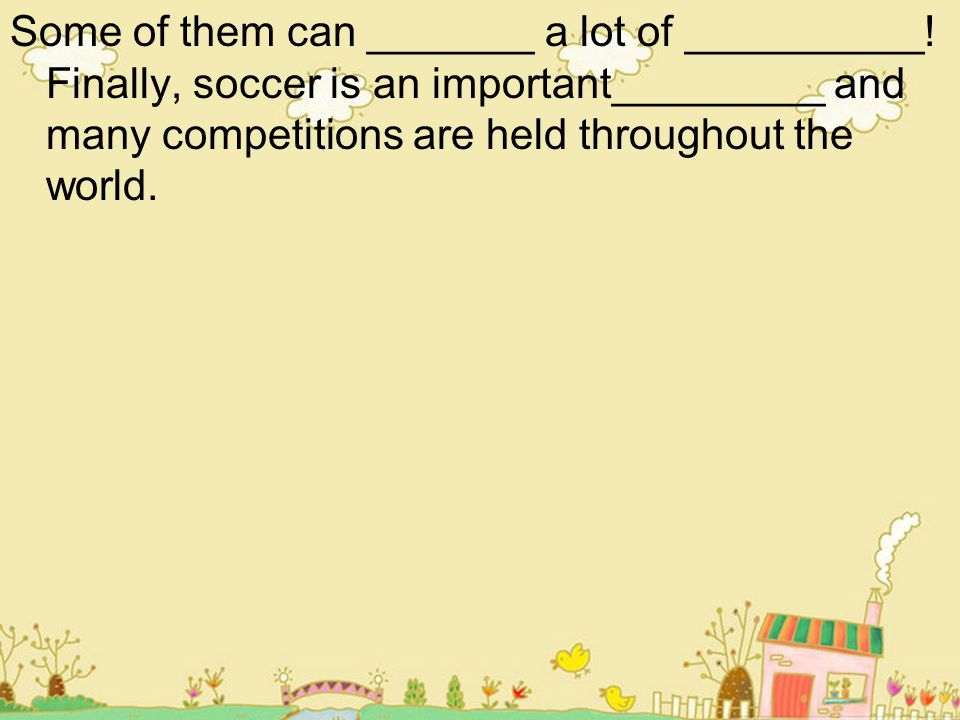 Language FocusSignpost words Firstly Secondly In addition Also For example Finally Examples: Firstly, sport promotes the development of ….