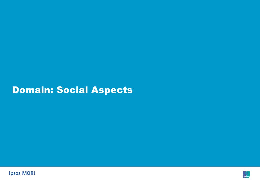 36 Domain: Social Aspects