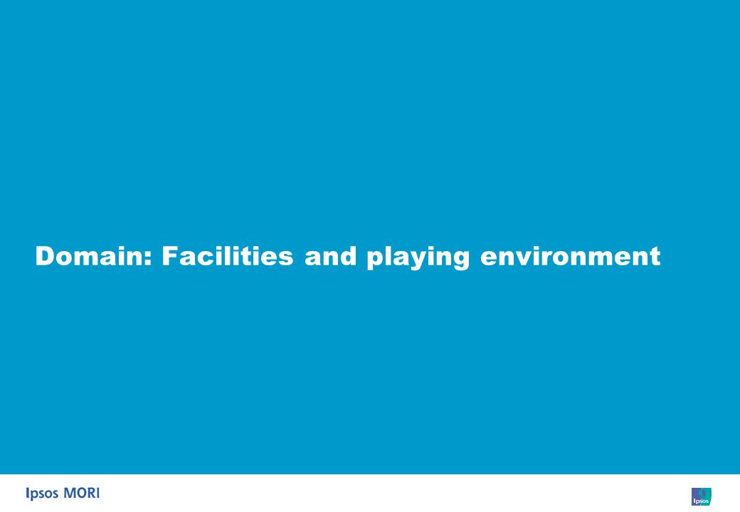 51 Domain: Facilities and playing environment