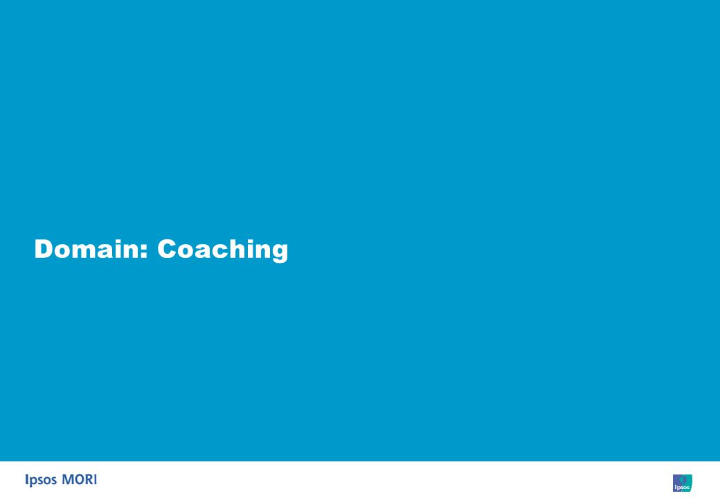58 Domain: Coaching