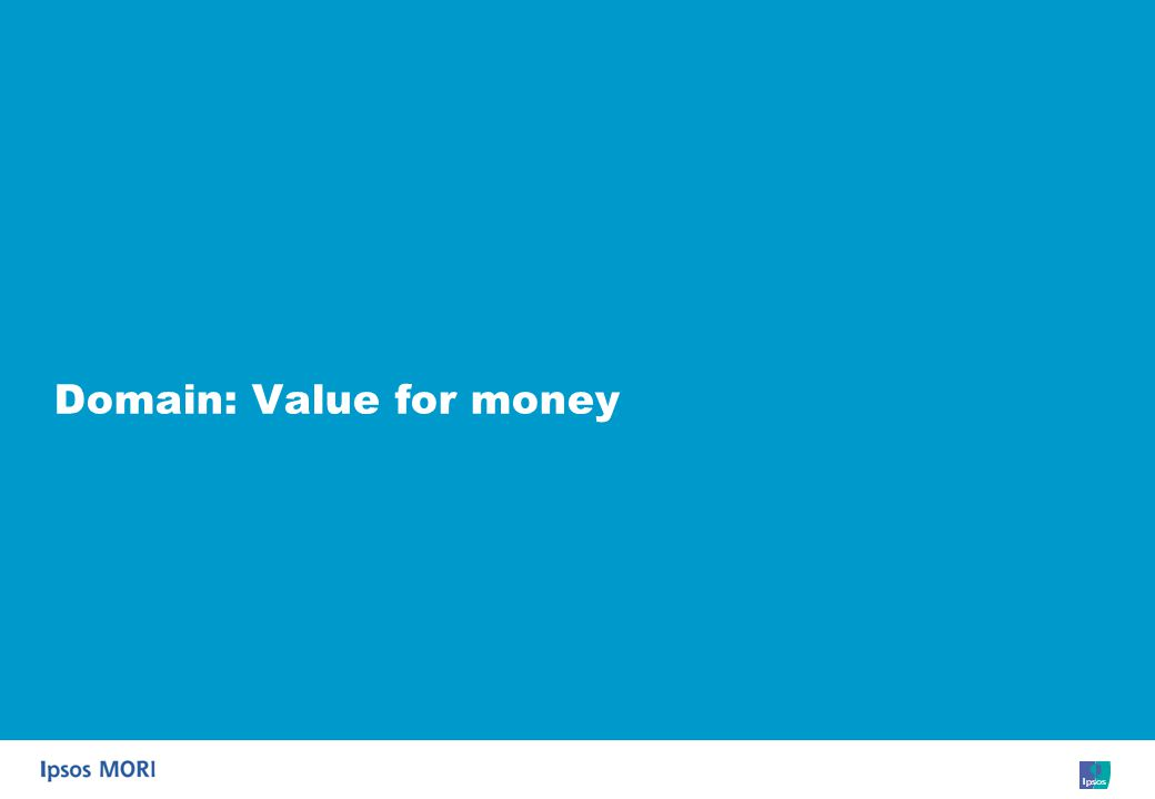 67 Domain: Value for money