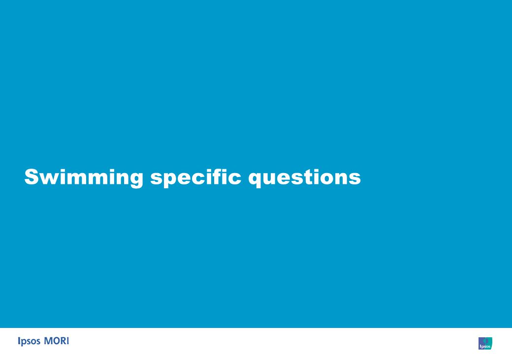 82 Swimming specific questions