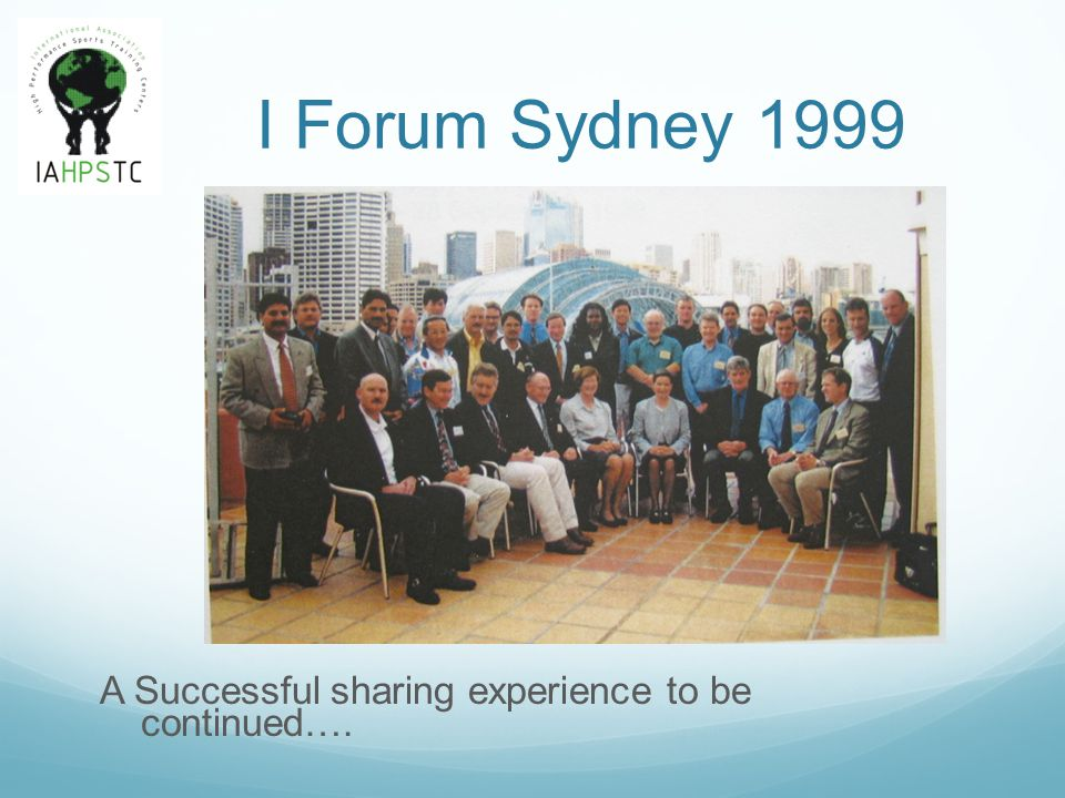 Modular content of past and future Forums, allowing to grow without Programming.