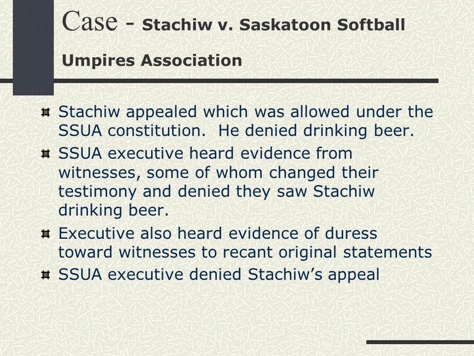 Case - Stachiw v.