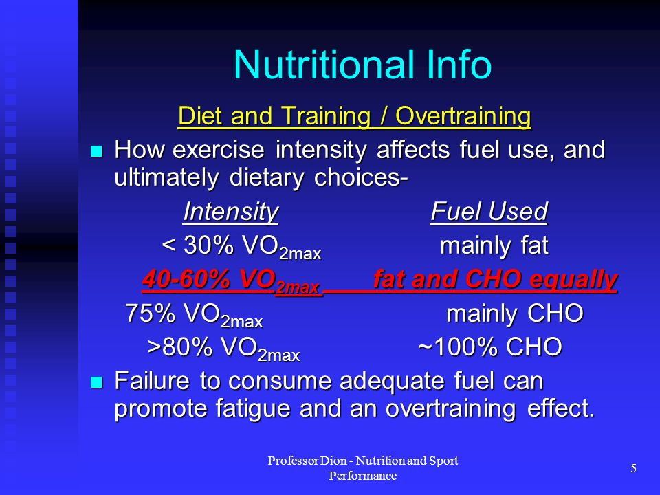 Professor Dion - Nutrition and Sport Performance 16 Eating Schedule When do you have your biggest meal.