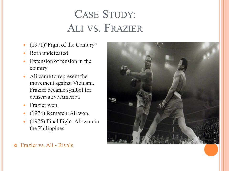 C ASE S TUDY : M IRACLE O N I CE Sport: Hockey U.S vs.