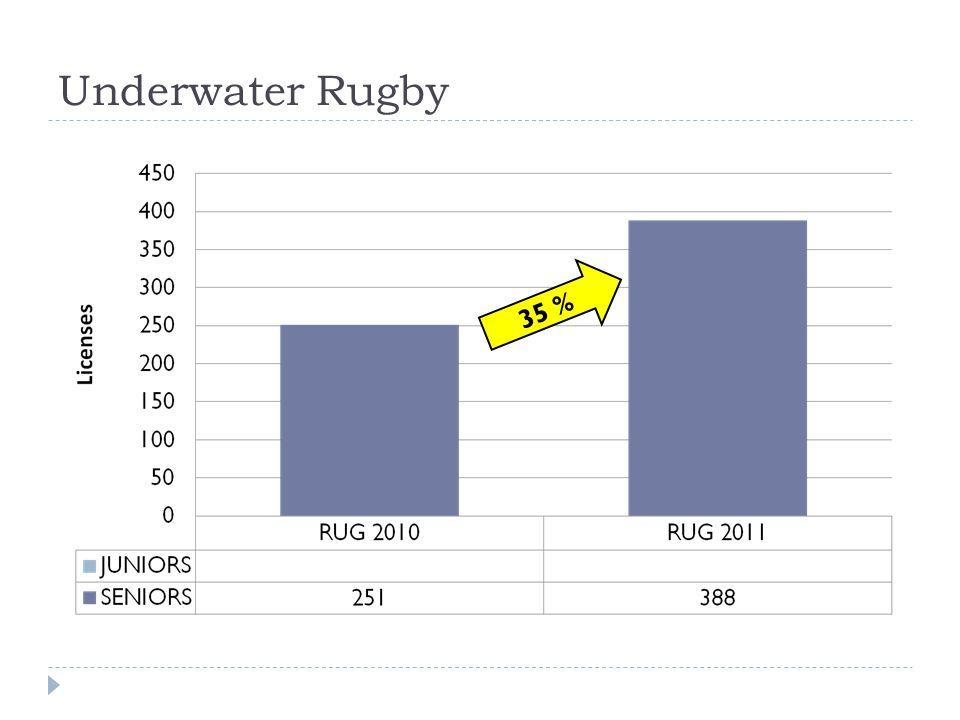 Underwater Rugby 35 %