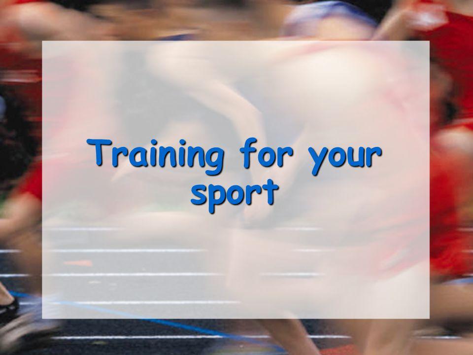 Principles of training.