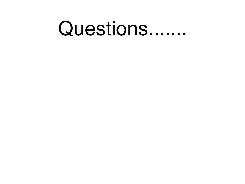 Questions.......